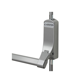 Exidor 308 - Single Panic Bolt with Horizontal Pullman Latches