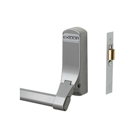 Exidor 305 - Reversible Panic Latch with Cylinder Mortice Night Latch