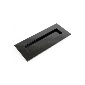 From The Anvil 33056 - Black Small Letter Plate