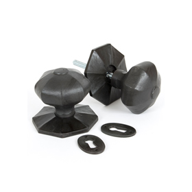 From The Anvil 33064 - Beeswax Octagonal Mortice Rim Knob Set