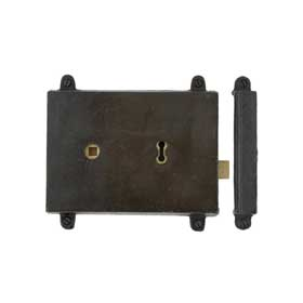 From The Anvil 33180 - Beeswax Rim Lock and Cast Iron Cover