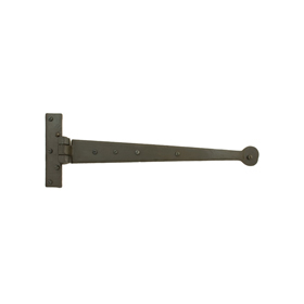 From The Anvil 33184 - Beeswax T-Hinge Penny End 15 inch