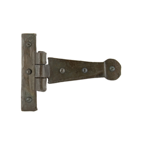 From The Anvil 33188 - Beeswax T-Hinge Penny End 4 inch
