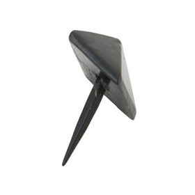 From The Anvil 33193 - Black Pyramid Door Stud 15mm