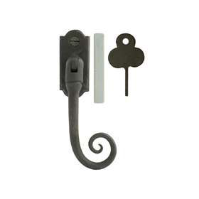 From The Anvil 33224 - Beeswax Monkeytail  Locking Espag Fastener - Right Hand