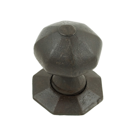 From The Anvil 33228 - Beeswax Octagonal Mortice Rim Knob Set