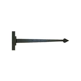 From The Anvil 33233 - Black Barn Door T-Hinge 36 inch