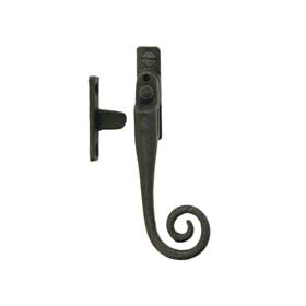 From The Anvil 33268 - Beeswax Monkeytail Locking Casement Fastener with Night Vent - Right Hand
