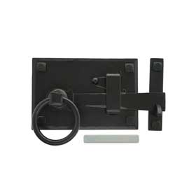 From The Anvil 33294 - Black Cottage Latch - Left Hand