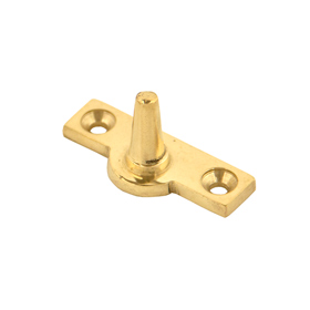 From The Anvil 33457 - Polished Brass Offset Stay Pin
