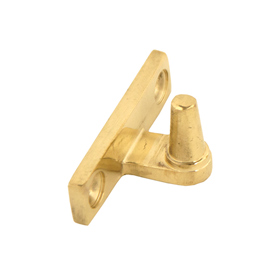 From The Anvil 33458 - Polished Brass Cranked Stay Pin