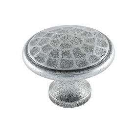 From The Anvil 33625 - Pewter Patina Beaten Cupboard Knob 40mm