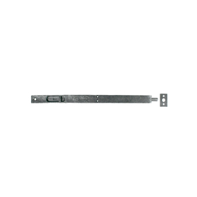 From The Anvil 33627 - Pewter Patina Flush/Slide Door Bolt 12 inch