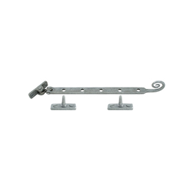 From The Anvil 33632 - Pewter Patina Monkeytail Casement Stay 305mm