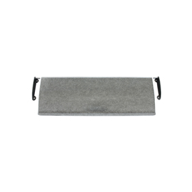 From The Anvil 33681 - Pewter Patina Large Letter Plate Cover