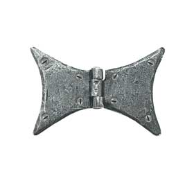 From The Anvil 33687 - Pewter Patina Butterfly Hinge 3 inch
