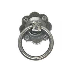 From The Anvil 33689 - Pewter Patina Ring Handle Set