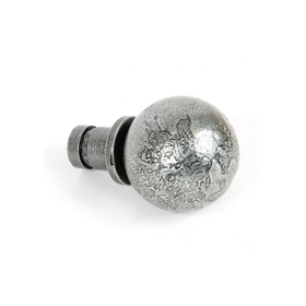 From The Anvil 33734 - Pewter Ball Curtain Finial (Pair)