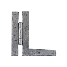From The Anvil 33760 - Pewter Patina HL Hinge 7 inch