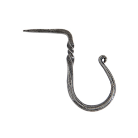 From The Anvil 33801 - Pewter Patina Cup Hook - Medium