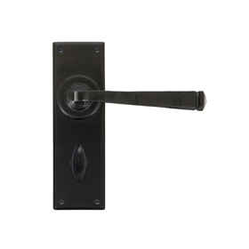 From The Anvil 33825 - Black Avon Lever Bathroom Set