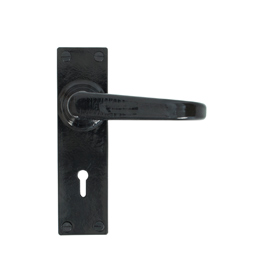 From The Anvil 33877 - Black Deluxe Lever Lock Set