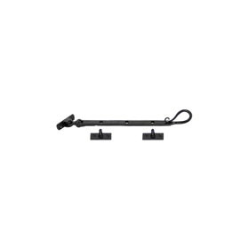 From The Anvil 33960 - Black Shepherds Crook Casement Stay 203mm