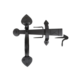 From The Anvil 33970 - Black Gothic Thumb Latch