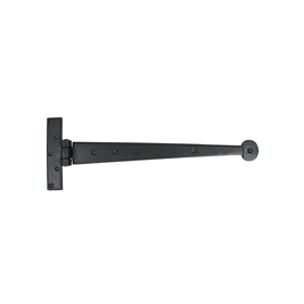 From The Anvil 33990 - Black T-Hinge with Penny End 15 inch