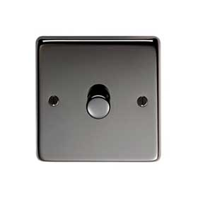 From The Anvil 91796 - Black Nickel LED Single Dimmer Switch