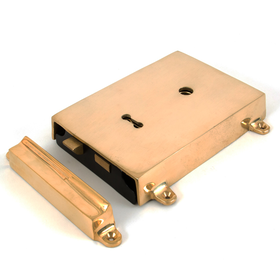 From The Anvil 35000 - Rim Lock with Solid Brass Cover