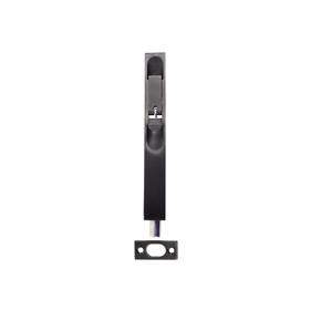 From The Anvil 90266 - Black Flush Bolt - 6 inch