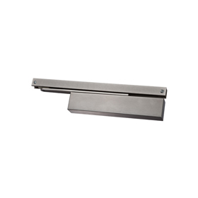 Exidor 6930 - Slimline Door Closer, Single Action, Power Size 2 - 4, With Matching Arm, Channel & Backcheck