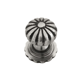From The Anvil 83508 - Cabinet knob with Base - Small - Natural