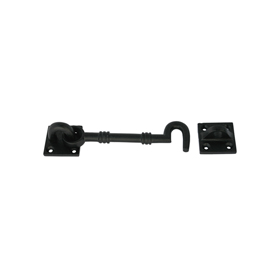 From The Anvil 83540 - Black Cabin Hook 5 inch