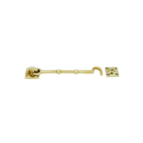 From The Anvil 83547 - Cabin Hook 6 inch - Polished Brass