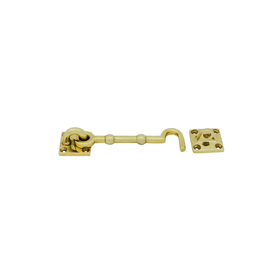 From The Anvil 83548 - Cabin Hook 4 inch - Polished Brass