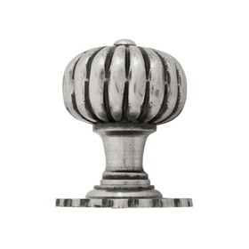 From The Anvil 83561 - Flower Mortice Knob - Natural Smooth