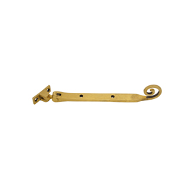 From The Anvil 83567 - Antique Brass Monkeytail Stay 8 inch