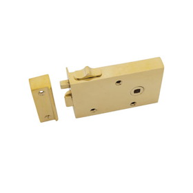 From The Anvil 83571 - Brass Right Hand Bathroom Rim Latch