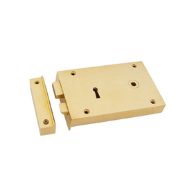 From The Anvil 83588 - Brass Right Hand Rim Lock - Large