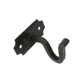From The Anvil 83618 - Beeswax Curtain Pole Mounting Bracket (Pair)