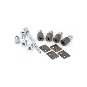 From The Anvil 83644 - Antique Pewter Sash Secure Stops (Pack of 4)