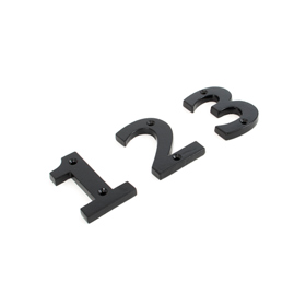 From The Anvil 83704 - Black Numeral 4