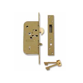 Union 3M51 - 5 Detainer Clutch Mortice Lock