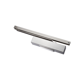Exidor 9933 S - Slide Arm Door Closer, Power Size 2-4 with Square Cover and Adjustable Backcheck