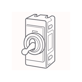Wandsworth 92 - Palace Double Pole Toggle Switch