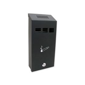 Sterling Locks CIG1BK - Small Black Cigarette Bin