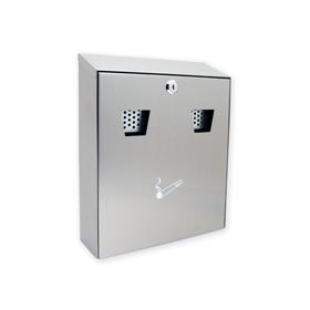 Sterling Locks CIG2ST - Medium Stainless Steel Cigarette Bin