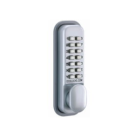 Codelocks CL155 - Mechanical Codelock with Mortice Latch. Hold Open/Non-Hold Open option
